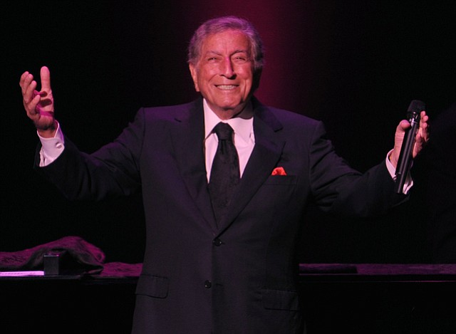 <b>THE MAN, THE MYTH, THE LEGEND:</b> Tony Bennett returned for try number two at the Granada Theatre on Sunday night, following a cancelled concert date earlier in the month.