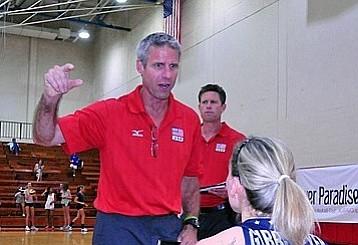 U.S. head coach Karch Kilray.
