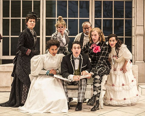 The Cast of <i>The Importance of Being Earnest</i>
