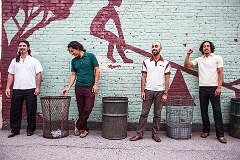 <b>LOS ANGELES, REPRESENT:</b>  East L.A. rockers Chicano Batman are just one of a number of acts taking part in this week's Hello World! free concert in Anisq'Oyo Park.