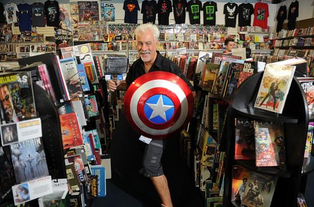 Bob Ficarra of Metro Comics.