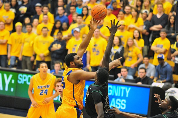 UCSB's Alan Williams led the NCAA in rebounds per game last season.