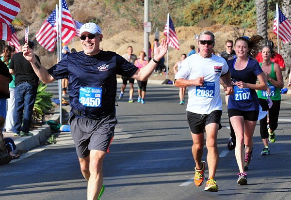 The sixth Santa Barbara Veterans Marathon is this Saturday, November 8.