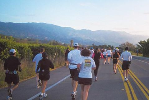 Select Staffing Santa Barbara Veterans Day Marathon and Half-Marathon