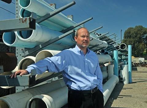 John McInnes, Goleta Water District manager
