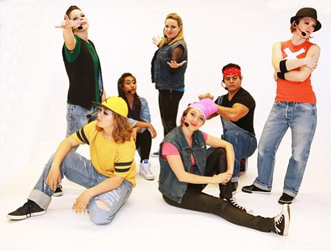 Dancers from Santa Barbara's The Dance Network