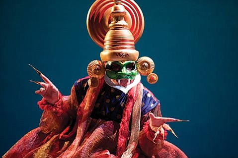 <b>NOT JUST FOR KIDS:</b> Michael Andrews plays the evil demon king Ravana in <i>Prince Rama and the Monkey King</i>.