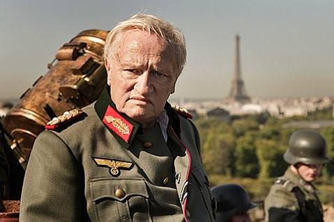<b>EVE OF DESTRUCTION:</b>  <i>Diplomacy</i> explores how a Swedish ambassador and a German general (Niels Arestrup) helped decide Paris's fate near the end of World War II.