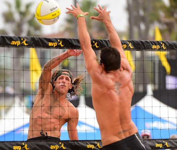 Jeremy Casebeer had a break-out season on the AVP Pro Beach Volleyball Tour.