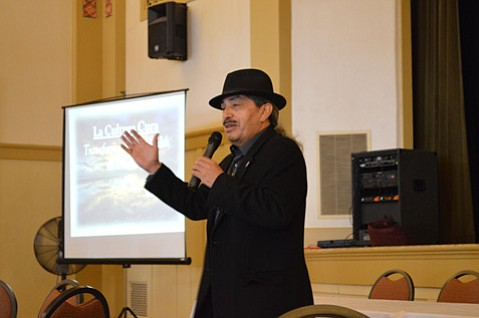 Jerry Tello of the National Compadres Network and the National Latino Fatherhood and Family Institute