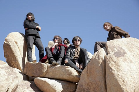 <b>ON A DESERT ISLAND:</b> The Los Angelenos of Mystic Braves (pictured) headline a heady night of music featuring fellow L.A. acts Jefertitti's Nile, the Abigails, and Pear Charles.