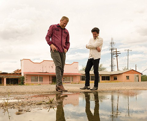 <b>GETTIN' THE BAND BACK TOGETHER:</b>  Cracker cofounders David Lowery (left) and Johnny Hickman rounded up the band's original members for their first new album in five years, the recently releasedBerkeley to Bakersfield. Cracker plays the Lobero Theatre onDecember 29with Lowery's other band, Camper Van Beethoven.