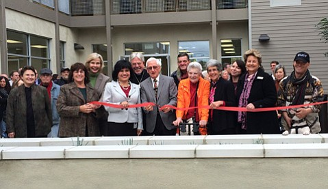 Ribbon-cutting at Pescadero Lofts in Isla Vista