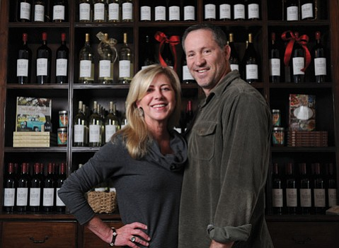 <b>RACE CARS TO RED WINE: </b>Kym and Jamie Slone are putting Santa Barbara style back into wine at their architecturally minded tasting room.