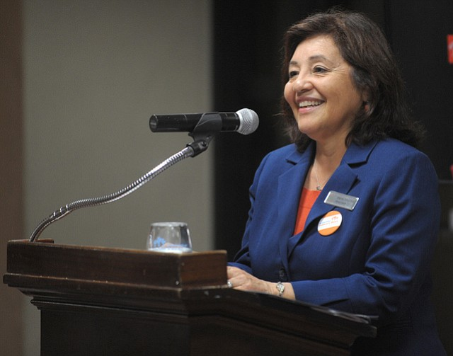 Irene Macias, Santa Barbara Public Library System Director