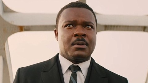 <b>KING'S PROCESSION:</b>  <i>Selma</i> stars David Oyelowo as civil-rights leader Martin Luther King Jr.