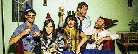 <b>PARTY TIME:</b>  S.B.'s Ghost Tiger celebrates their new EP, Some Friends Feel Like Family, this Saturday, January 17, at SOhO.