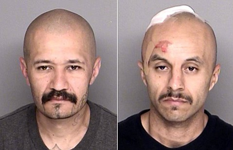 Anthony Gomez and Martin Trujillo