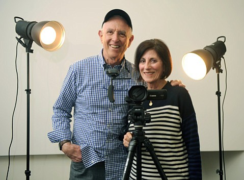 Stan Roden and Phyllis de Picciotto