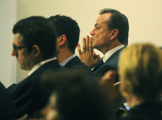 Rick Caruso at the Montecito Planning Commission (Jan. 21, 2015)