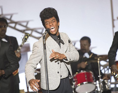 Chadwick Boseman in <i>Get On Up</i>