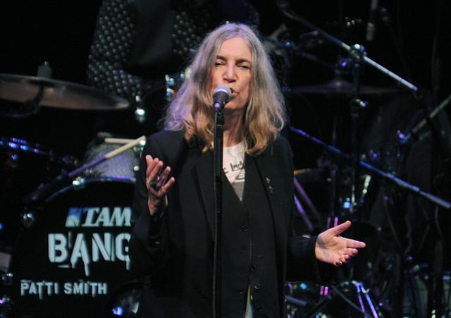 Patti Smith plays the Granada Theatre (Jan. 27, 2015)..