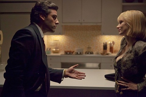 <b>HIGH NOON IN N.Y.C.: </b> Director J.C. Chandor's third feature, <i>A Most Violent Year</i> starring Oscar Isaac (left) and Jessica Chastain is reminiscent of the Coen brothers' brilliant <i>Miller's Crossing</i> but with a more optimistic view of a dark world.