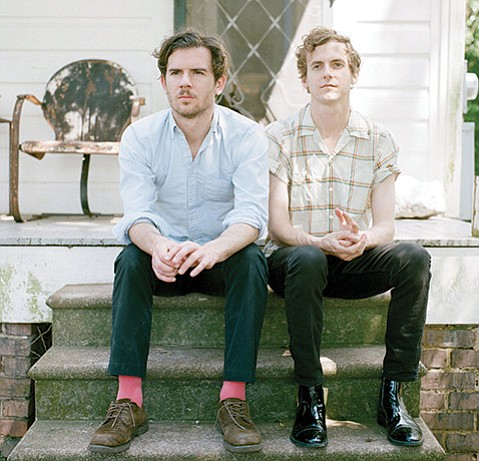 <strong>MUSIC TO LIVE BY:</strong>  The Generationals' Grant Widmer (left) and Ted Joyner craft buoyant, hook-driven synth pop that lands in your ear and sticks.