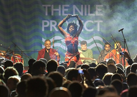 <b>BUILDING BRIDGES:</b> Part performance, part education program, The Nile Project is a band fully invested in getting people informed about the Nile region of Africa.