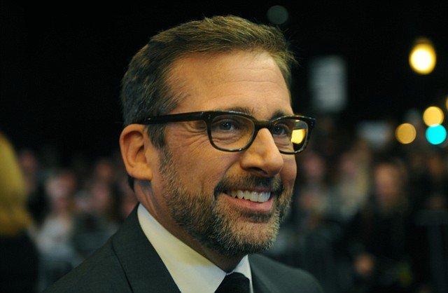 SBIFF 2015 Outstanding Performer of the Year recipient Steve Carell (Foxcatcher) speaks with media at the Arlington Theatre (Feb. 6, 2015).