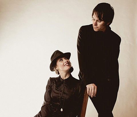 <strong>SWEET MUSIC:</strong> Hubby and wife Johnny Irion (right) and Sarah Lee Guthrie will celebrate Valentine's Day onstage at the Lobero Theatre.
