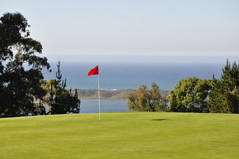 The greens at Morro Bay Golf Course have settled into some challenging undulations.