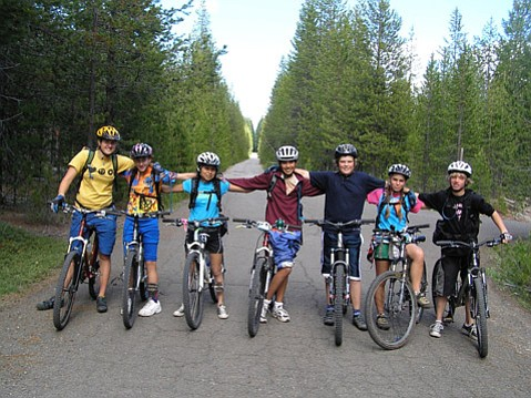 Teaming biking with learning, Santa Barbara Middle School students take it on the road at least twice a year.