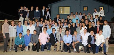 UCSB's Phi Sigma Kappa (December 2013)
