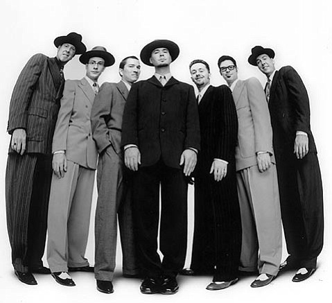 <b>WAY BACK WHEN:</b>  Two members of Big Bad Voodoo Daddy credit S.B. teacher Ike Jenkins with inspiring them to pursue music.
