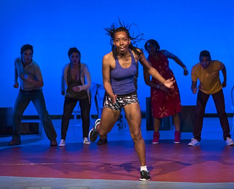 <b>COOL RUNNING:</b> Joré Aaron-Broughton stars as Oya, the high school athlete at the center of <i>In the Red and Brown Water</i>.