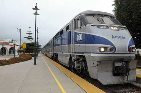 <b>ON THE CLOCK: </b> State Senator Hannah-Beth Jackson is working to tweak the Pacific Surfliner's run times.