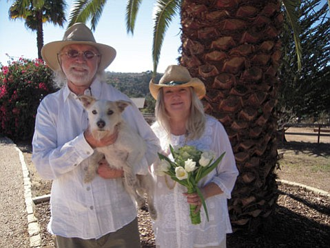 <b>A GENEROUS HEART:</b>  Tony Johansen and Susanna Joslyn Johansen were married last Valentine's Day, with Jack London serving as best man.