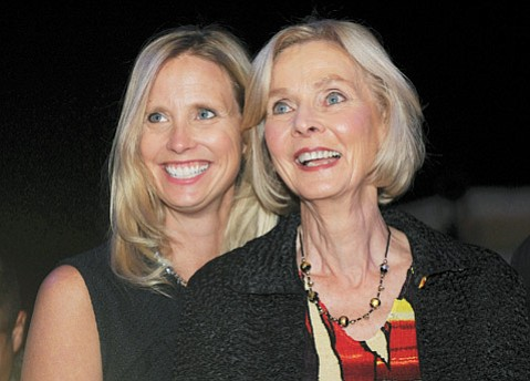 Laura (left) and Lois Capps
