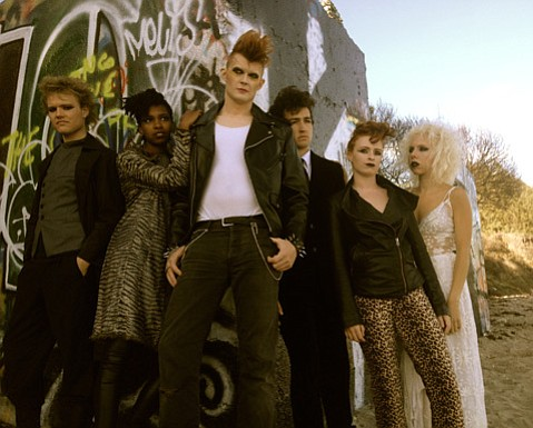 <b>GOD SAVE THE QUEEN:</b>  This UCSB production is set in the late 1970s, and thus the characters express their collective rejection of social conformity through the fashions of the golden era of British punk.