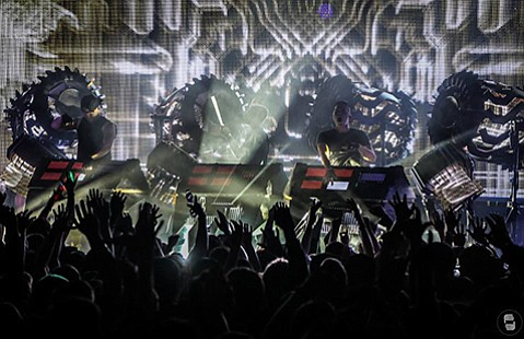 <b>HOMEBOY ADVANTAGE:</b>  Goleta-born Justin Boreta is one-third of The Glitch Mob, a group formed in 2006 from a deejay collective and born of the Los Angeles electronic music scene.