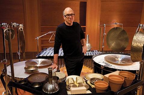 Percussionist Steven Schick