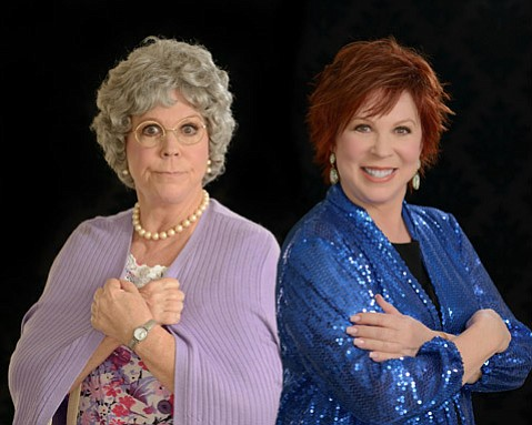 Vicki Lawrence (right) plays Mama (left).