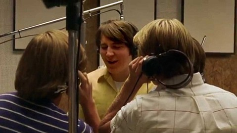 <b>THE BEACH BOY:</b>  Paul Dano plays a young Brian Wilson in the sweetly overbaked biopic <i>Love & Mercy</i>.