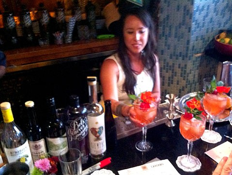 Winner Dominique Gonzola of Granada Hotel & Bistro in San Luis Obispo