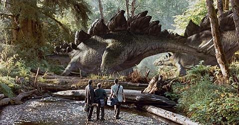 <b>SEQUELS FIND A WAY:</b>  Chris Pratt and Bryce Dallas Howard star in the so-so, in-jokey Jurassic World.
