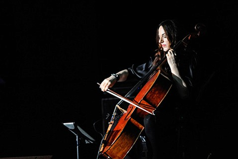"<b>QUEEN OF THE BOW:</b>  Described as a ""cello goddess"" by the New Yorker, Maya Beiser showed off her single-instrument virtuosity at last weekend's Ojai Music Fest."
