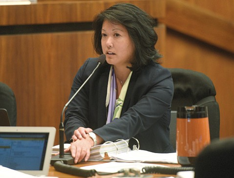 Santa Barbara County CEO Mona Miyasato.