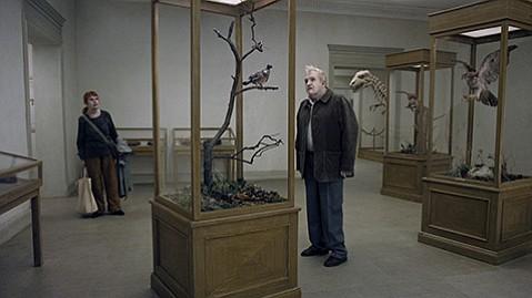 <em>A Pigeon Sat on a Branch Reflecting on Existence</em>