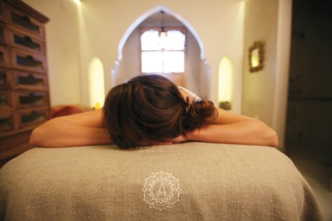 <b>MASTERFUL MASSAGE:</b>  Rubdowns are just one of the many ways to wellness at Alchemy on Haley Street.